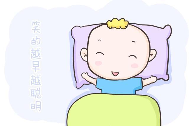 """新生宝宝可爱的""""笑容""""是不是有什么特殊的含义?看完这篇就懂了"""