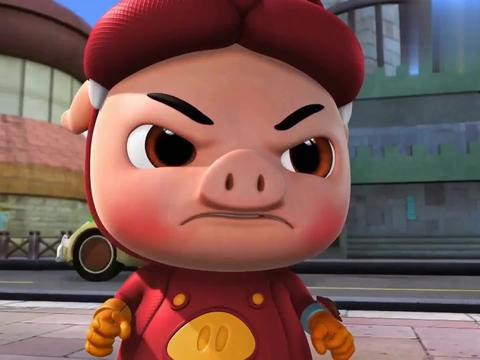 猪猪侠:小女孩跟踪猫脸怪,还说要说出真相,一张嘴竟陷害猪猪侠