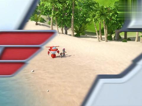 超级飞侠:女孩带领着同伴,轻松就找到宝藏,真不愧是海盗!