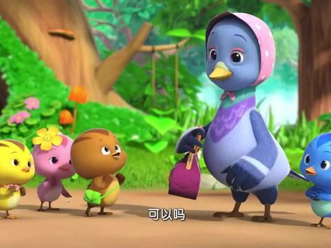 萌鸡小队:萌鸡们玩弹珠,却都是一些石头,一点都不圆润!
