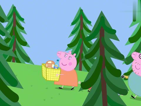 小猪佩奇:公牛先生真恐怖,为拿到钥匙,破坏了整个风景区!
