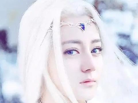 白发美人:刘诗诗、迪丽热巴、宋茜、鞠婧祎,谁让你心动不已?