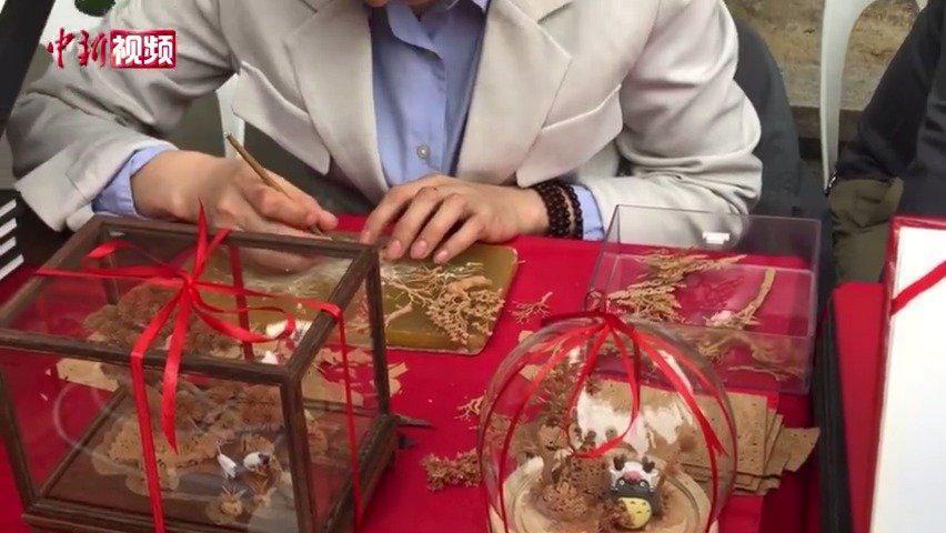 耳环首饰还有手提包 软木画新玩法你见过吗?