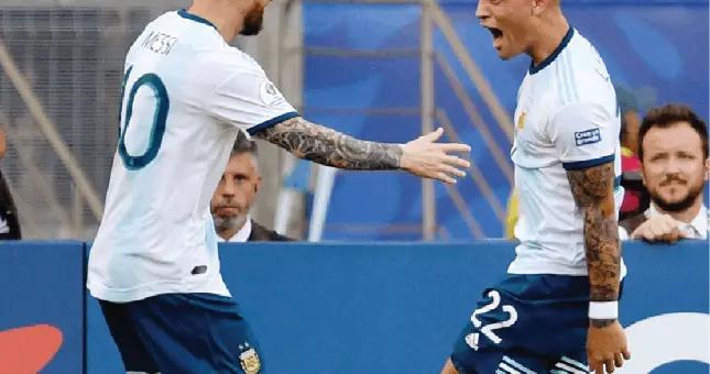 国米核心:力争接过梅西国家队10号!意甲夺冠,加个纹身庆祝
