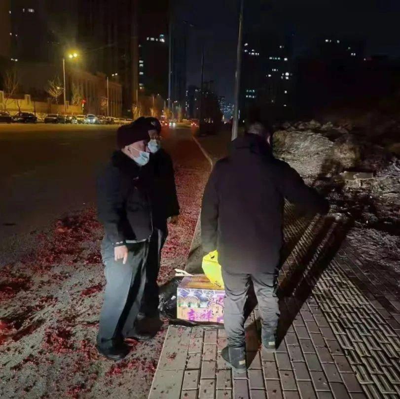 元宵节,哈市警方收缴烟花366件,未燃放请上交统一销毁