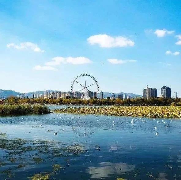 昆明滇池25公里环草海生态步道年内将贯通