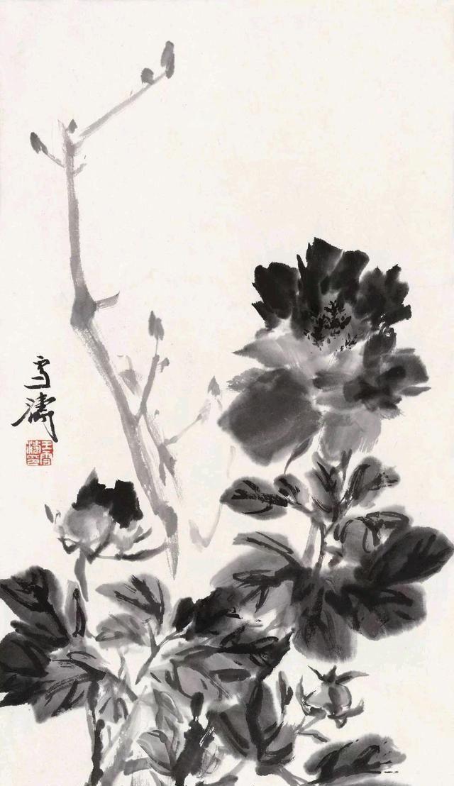 C137,每天都坚持看看王雪涛国画作品,集中精力向老师学习