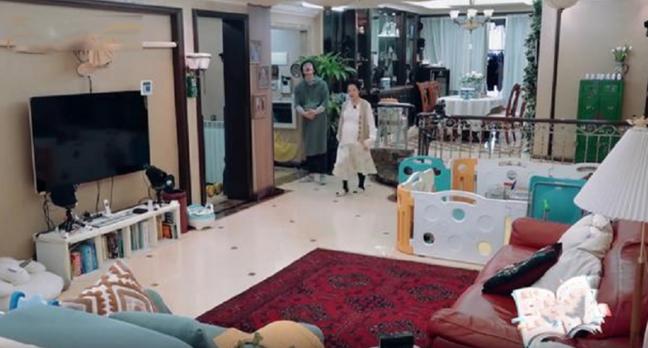 刘璇节目中晒出自己的家,生怕孩子玩耍磕碰到,客厅茶几都没有