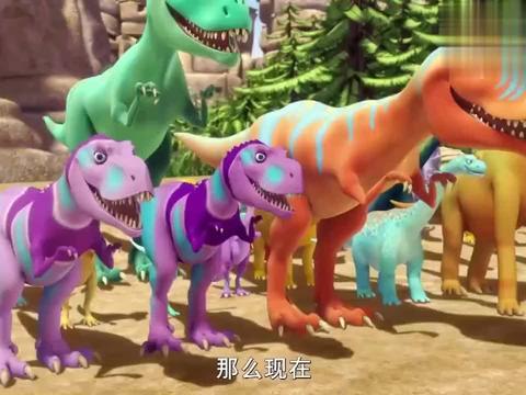 恐龙火车:市长终于如愿以偿,和自己的偶像,一起表演唱歌了呢!