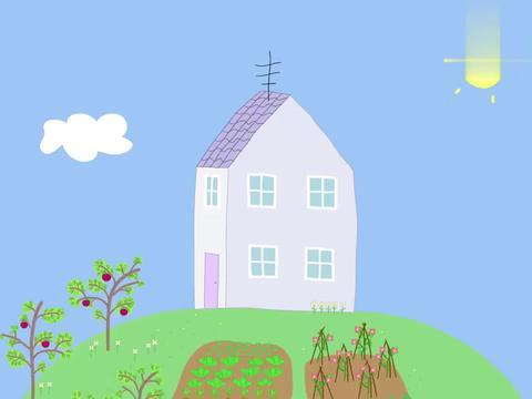 小猪佩奇:佩奇去自制花朵香水,乔治也有喜欢的,是一桶泥坑的水
