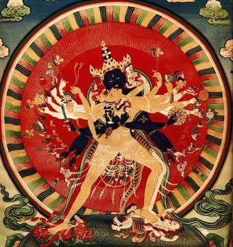 佛教虽兴于印度半岛,但受到印度教及伊斯兰教的打压逐步退出舞台