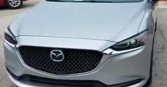 马自达汽车爆发了,新款中级车外观漂亮,百里油耗5L,配2.5L+6AT