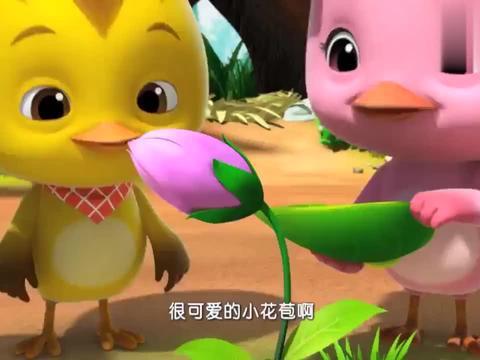 萌鸡:麦奇照顾虫宝宝,谁知虫宝宝胃口这么好,三口吃完一片树叶