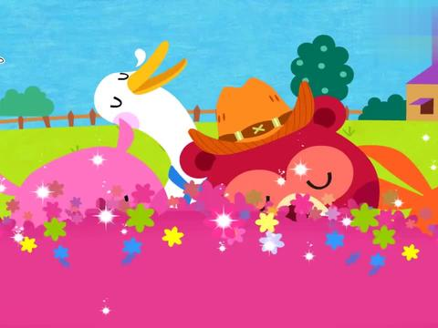 碰碰狐英语鹅妈妈童谣:小黑鸡下蛋啦,每天十个鸡蛋,不让大家看