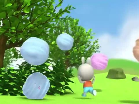 帮帮龙:棉花糖机因为放了太多的糖果发疯了,蹦出来好多棉花糖