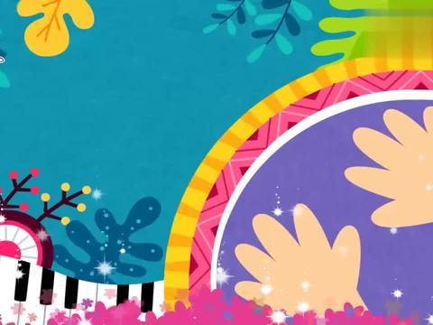 碰碰狐英语鹅妈妈童谣:音乐家真厉害,什么乐器都会,声音悦耳