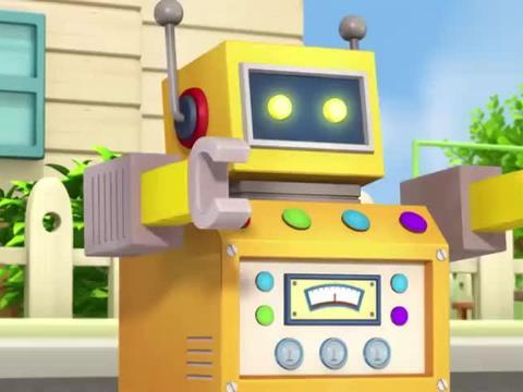 帮帮龙:保罗的机器人和玩具们组成强大的机器人,真是威力四射