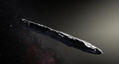 """进入太阳系的首个""""星际旅客"""",科学家猜测可能是一个探测器"""