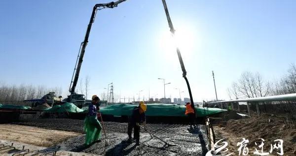 宿迁上海路项目快速推进