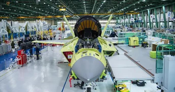 """韩高调展示国产隐形战机进展 关键部位不再""""打码"""""""
