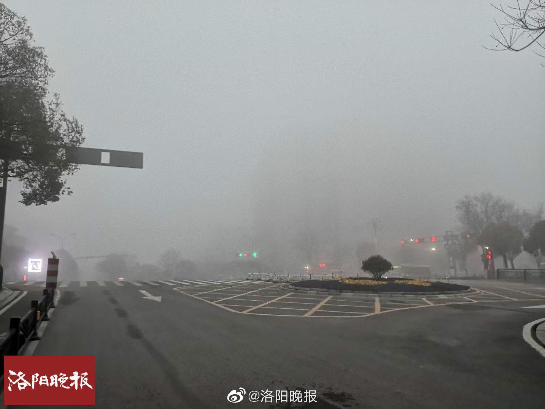 洛阳发布大雾黄色预警!