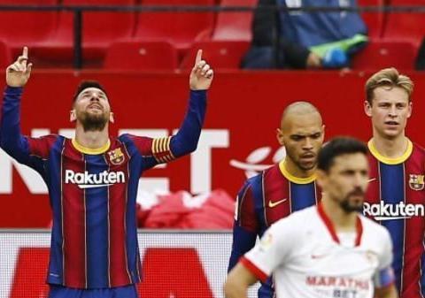 我不配踢球!塞梅多:我发誓梅西没有练过任意球,他不练习也完美