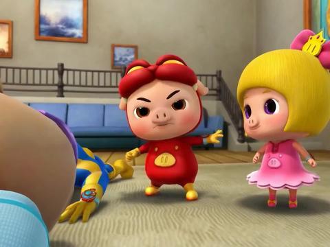 猪猪侠:怪物看了奶奶的日记,变成了小女孩,原来她就是孙女