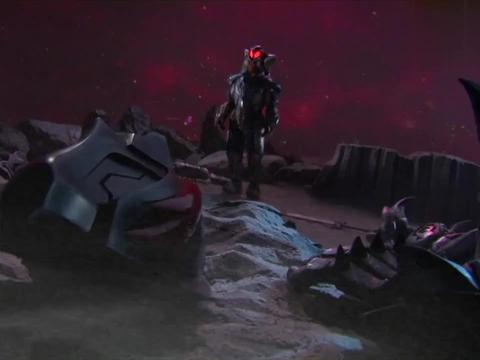 贝利亚抢了赛罗的身体,杀了警卫队的朋友们,赛罗你快回来吧!