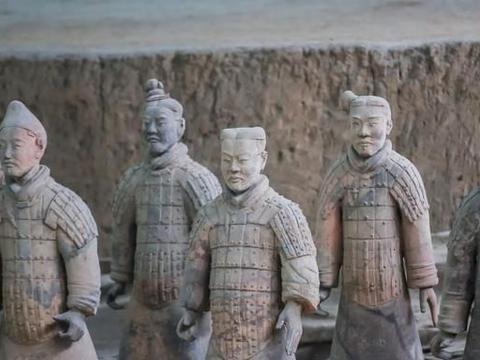 西安壮观的兵马俑坑,是中国第一批世界遗产,每天都吸引无数游客