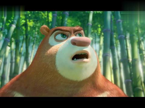 熊出没:野人看见毛毛虫,被吓的魂不附体,结果开始自相残杀!