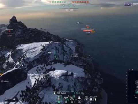 【战舰世界欧战天空】第1333期 罗斯福的排位赛空中打击