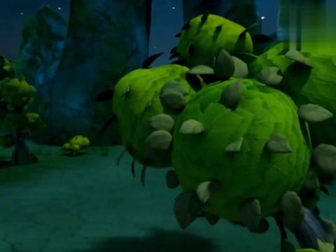 猪猪侠:幸福救援队无处躲藏,迷糊老师启用秘密基地,众人登月球