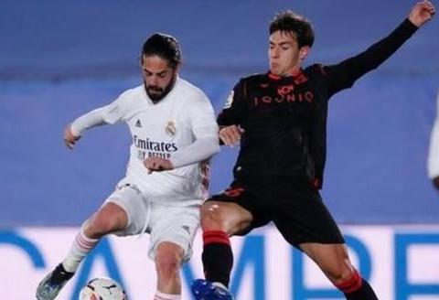 皇家马德里锋线失去利度,主场憾平,齐达内变阵导致球队乱套