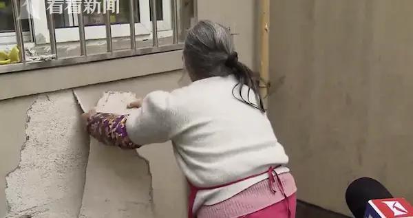 保障房小区布满警戒线?外墙到处脱落十多年