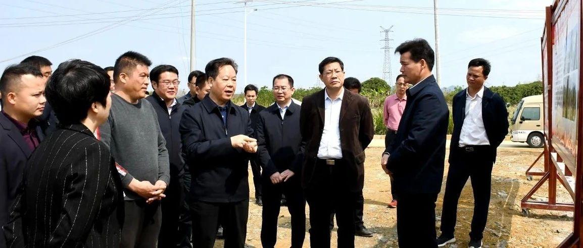 刘有明到江州区调研重大项目建设情况
