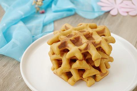 太妃炼奶华夫饼