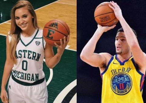 汤普森极品前任,颜值不输詹娜!她才是篮球女神,身材让人羡慕