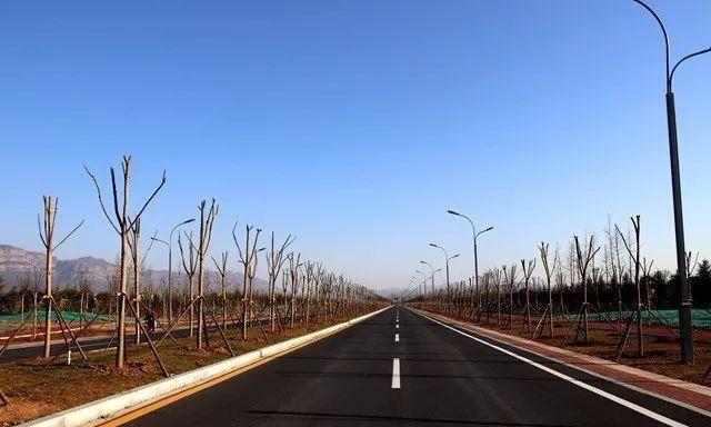林州城区西部最美生态廊道!