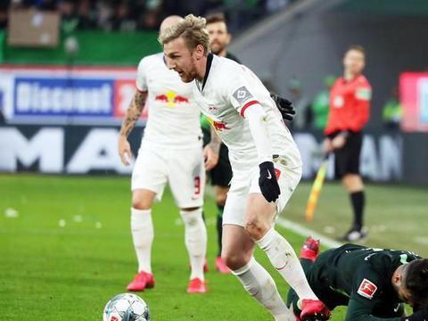 德甲两支最强防守球队硬刚!狼堡头号射手缺席,莱比锡恐事与愿违