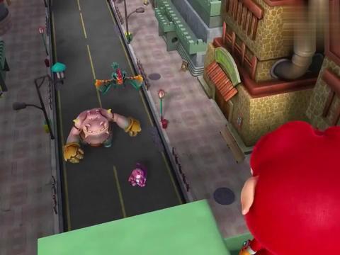 猪猪侠:猪猪侠骗美杜莎进陷阱,撒辣椒粉,成功拿到美杜莎的眼泪