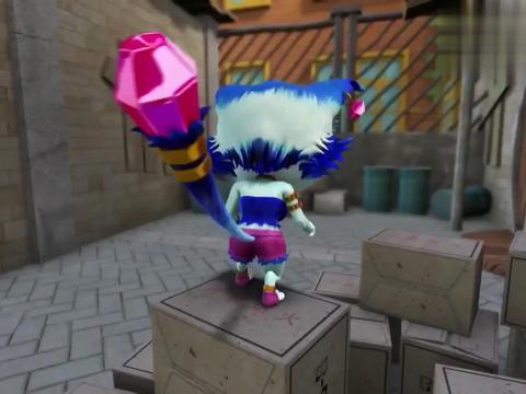 猪猪侠:猫脸怪变成王后,为孤儿们做好事,赢得一片赞扬声!