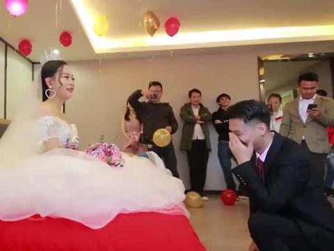 广西一帅哥迎亲,新娘酒店出嫁,太漂亮了,忍不住多看了好几遍