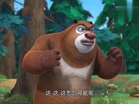 熊二的泰山压顶,对光头强居然不起作用