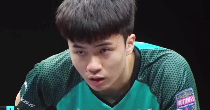 林昀儒3-2险胜黑马晋级:国乒退赛、他能夺冠吗?