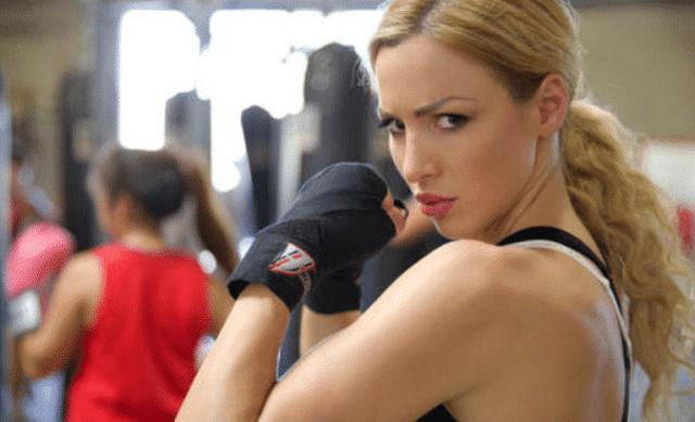 奥尼尔心中最美拳击运动员,曾疯狂示爱遭拒,现35岁身材称极品