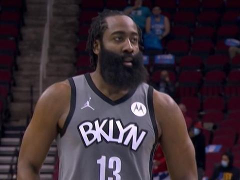 17+8+7!哈登你疯了,自己3双还差点喂出个3双,要成NBA第一人吗
