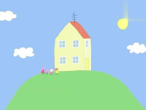 小猪佩奇:兔妈妈有小宝宝了,而且生了两个,佩奇还帮忙取名呢!