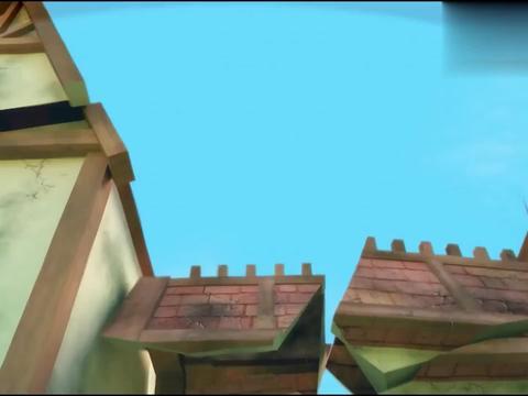 猪猪侠:小呆呆被结界挡在外面,用石头也砸不开,菲菲却轻松通过