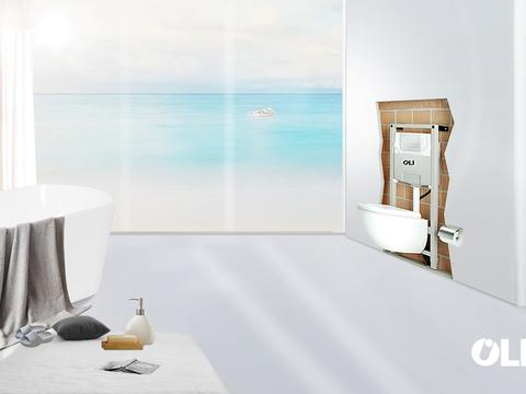 如何打造一个极简的卫生间?