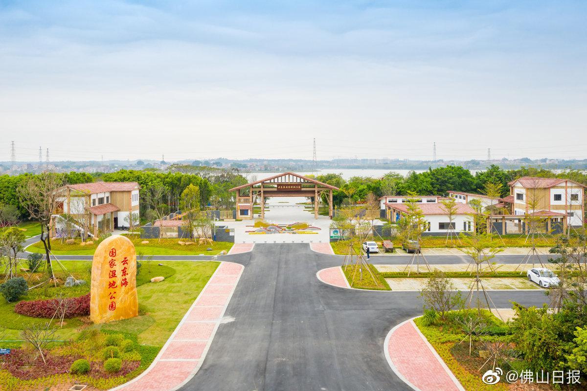 看萤火虫漫舞、VR体验湿地!三水这个公园将在8月完工